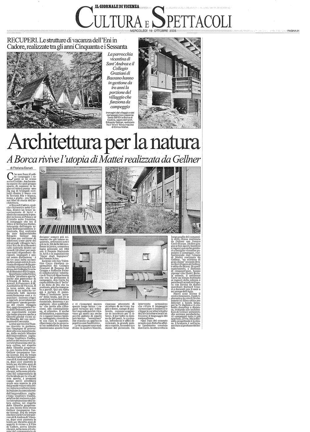 Architettura per la natura